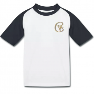 T-shirt baseball Contre Galop enfant