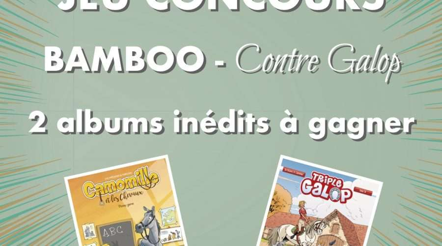 Jeu concours avec Bamboo Edition