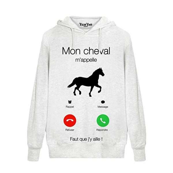 sweat appel cheval