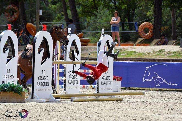 chute cavalier