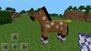 cheval jeu video minecraft